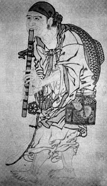 Rōan - detail of hanging scroll attributed to Shōkei, late 15th century