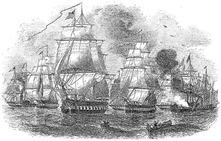 Commodore Perry's Second Japan Fleet