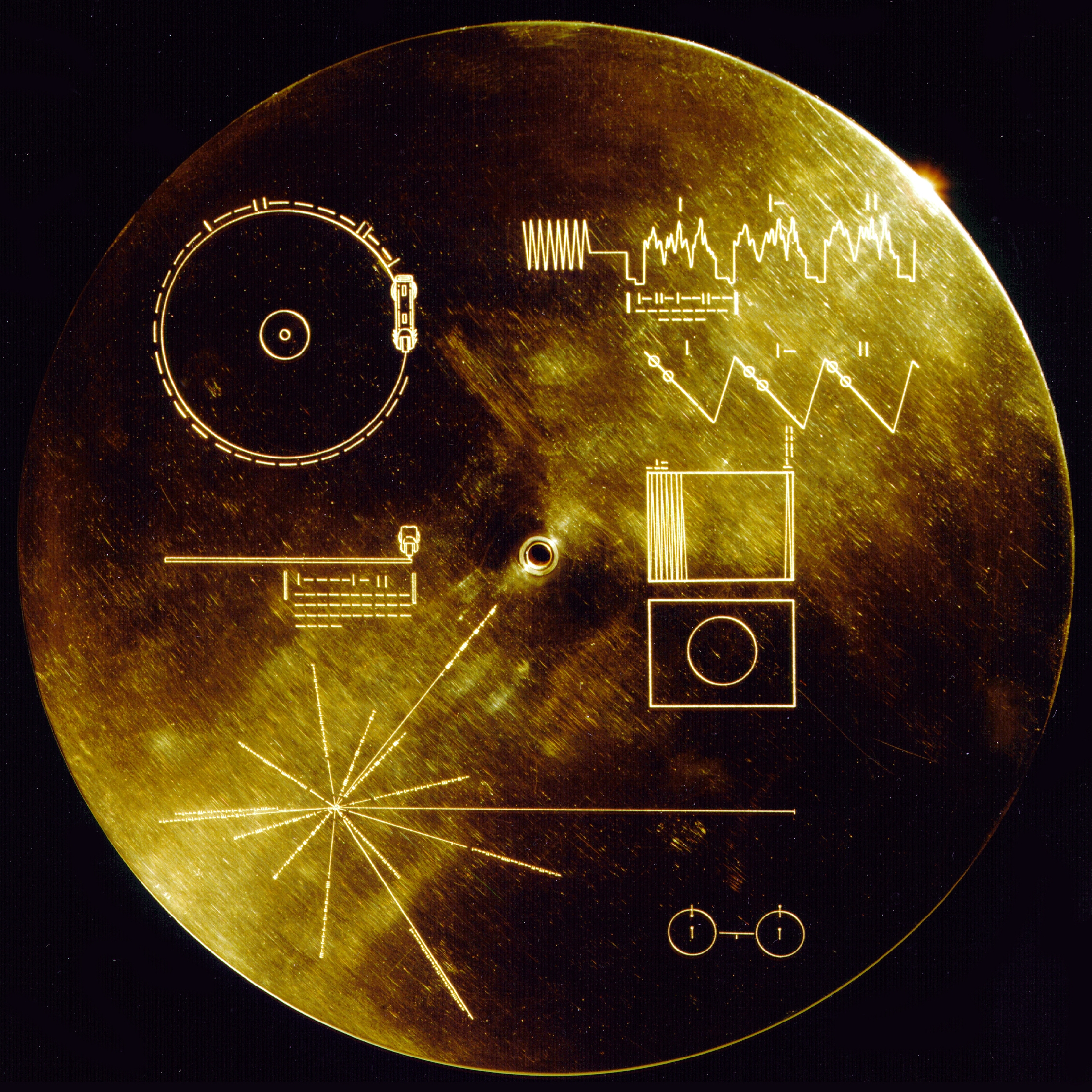 The Voyager Golden Record cover