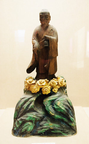 Fuke Zenji sculpture, Matsudo City Museum